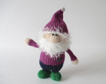 Noel the Gnome toy doll knitting patterns