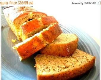 MEGA SALE Julie's Lemon Poppyseed Bread - FOUR (4) Loaves