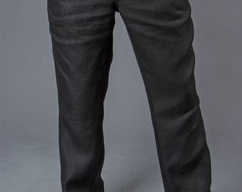 Men's Pants - Classic / Happyhempy / 100% Hemp / Eco-friendly / Vegan / Handmade / Sustainable fashion