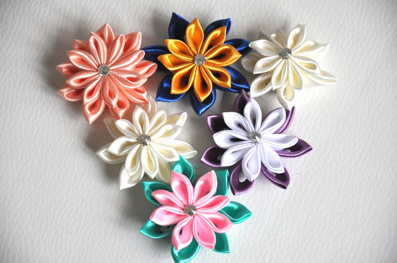 Kanzashi tutorial ribbon flower pdf tsumami kanzashi pointed kanzashi tutorial ribbon flower pdf tsumami kanzashi pointed kanzashi flower making how to make flowers immediate download petals mightylinksfo Images