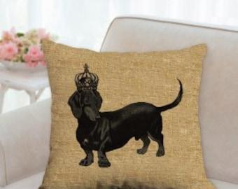 Dachshund Dog Pillow
