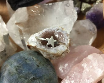 Star Stacking Ring - Made To Order In Your Size
