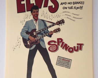 Elvis Spinout Vintage Movie Poster Print Reproduction