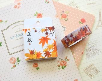 Autumn Leaves Cardlover Seasons Series Washi Masking Tape