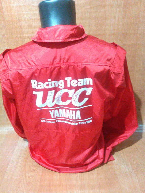 Vintage Yamaha Riding Wear Vintage Yamaha Jacket Yamaha UCC Racing Team WrJx6cmBcV