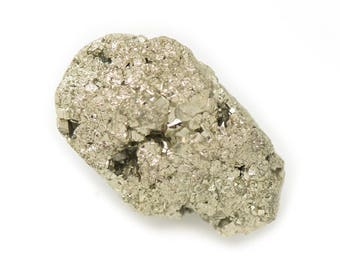 N6 - Cabochon stone - Pyrite raw 29x17mm - 8741140018365