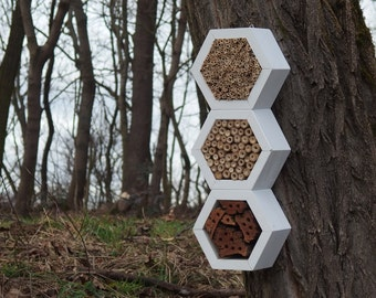 BEE HOTEL, Insect house, Mason bee home - Superiorhotel Snow