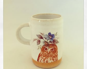 Talk to the Animals- Owl Espresso Cup