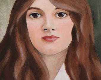 Lillith - Original Painting by Elizabeth Bauman