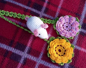 Handmade Bookmark / Crochet Bookmark / Flower Bookmark / Reading Assessories