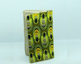 beautiful African wax type wallet