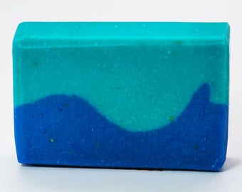 Salish Sea, Ocean Sea Scent, Fading Frontier, Shipwreck Apiaries, Handmade Soap, Artisan Soap, Cold Process Soap, Natural Beeswax Soap