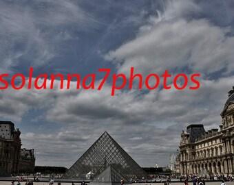 A little bit of Paris 2, Paris Photography, Musee du Louvre, Paris, France, Wall Hanging Art