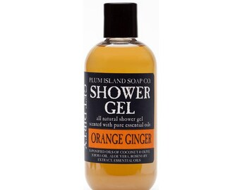 Shower Gel: Orange Ginger