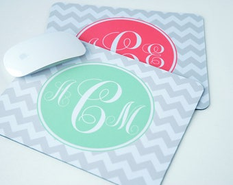 Mouse Pad Personalized, Administrative Professionals Day Gifts, Administrative Assistant Gifts, Monogrammed Mousepad, Personalized Mousepad