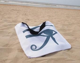"Egypt Beach Bag ""Eye of Ra"""