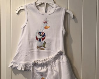 Beverly Duck Tank/Short Loungewear