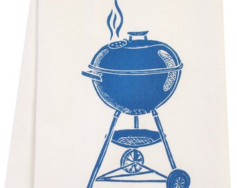 organic grill tea towel