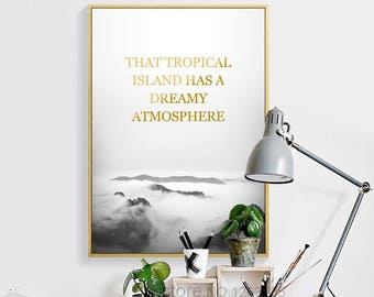Tropical Atmosphere Canvas Wall Art