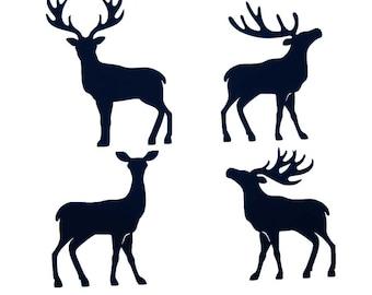 Vinyl Deer  3 sheet (same design)