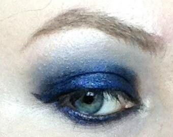Captive Eyeshadow- Deep Blackened Metallic Sapphire