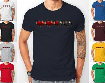 Health Left Hearts Gaming Tee shirt T-Shirt