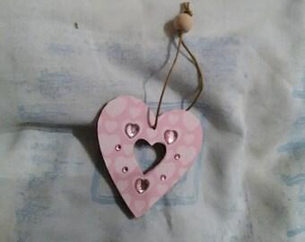 Heart Decoration, Handmade