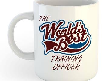 The Worlds Best Training Officer Mug