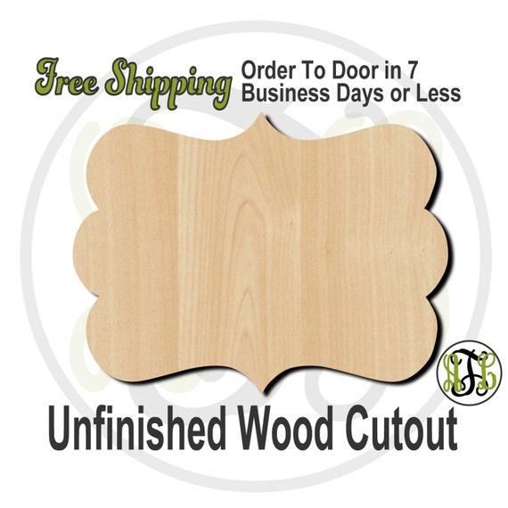 Plaque Peyton - 40012- Cutout, unfinished, wood cutout, wood craft, laser cut shape, wood cut out, DIY, Free Shipping