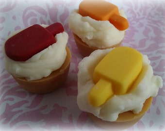 Orange Creamsicle, Soy Bakery Tarts, Scented Wax Melts, Super Strong Scent, Summer Scented, Dessert Candles, Ice Cream Tarts, Handmade Melts