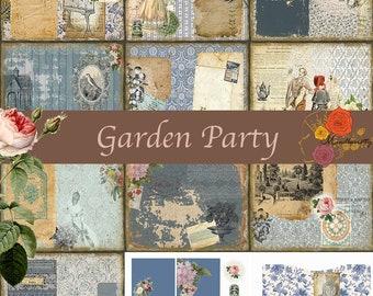 Garden Party (Digital paper)