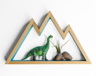 Mountain Shelf / Wall Hanging Art (small)