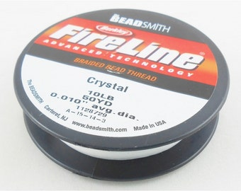 Fireline - 10 lb. Crystal 50 yards