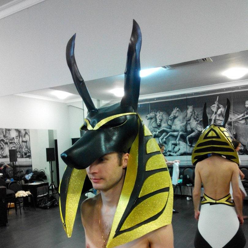 CA$262.10 & Costume Anubis - costume Egypt - Costume Hallowen - masquerade ...