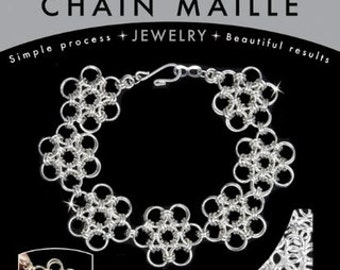 DIY Jewelry Chain Maille Jewelry Kits Silver Bracelet Kit Japanese 6 in 1 Chain Mail Silver Bracelet Kit