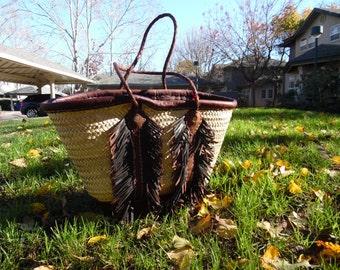 hand made market basket