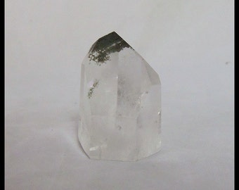 Quartz Fluorite Inclusion Point Prism Metaphysical Crown Chakra Crystal Reiki Stone Meditation Crystal Birthday Gifts