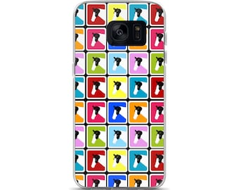 Colorful Paint Horse Samsung 7 Case or Samsung 8 Case