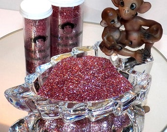 Blush Pink Extra Fine Glitter 0.008 - Many Colors Available - 2 Sizes - Visit Our Shop! B-54