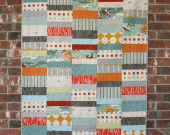 Optimism - Modern Quilt Pattern - INSTANT DOWNLOAD
