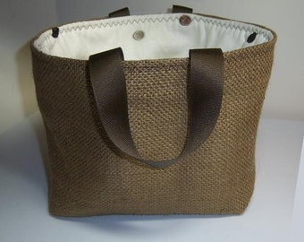 Burlap Basket Sewing Pattern: Make Your Own Perfect Size for DVD's, Books, Toys, Fabric Patterns, Fabric, Supplies