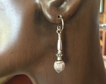 Earrings in Sterling Silver #b