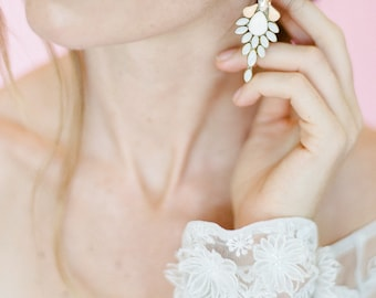 Intricate Statement Earring