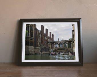 Bridge of Sighs - Downloadable Photography Print Wall Art