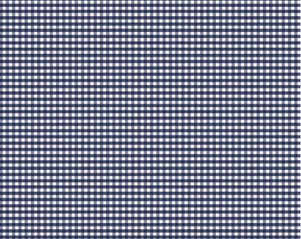 Riley Blake - 1/8 Inch Small Gingham in Navy by RBD Designers
