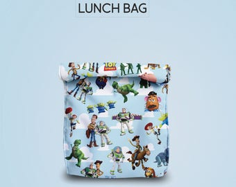 toy story  lunch bag for women lunch bag for men lunch bag for kids