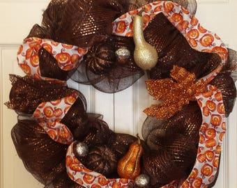 Shimmering Autumn wreath