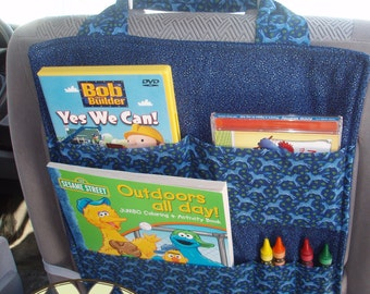 Car Seat Organizer - PDF SEWING PATTERN - Instant Download -by BlissfulPatterns