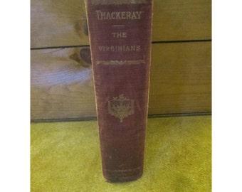 The Virginians – William Makepeace Thackeray - Cosmada – Antique Illustrated W. M. Thackeray Book