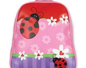 Personalized Stephen Joseph Go Go Ladybug Backpack